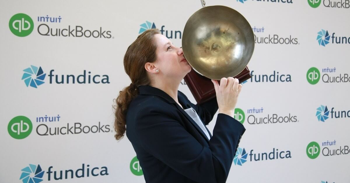 Cora Cole, our Founder and CEO winning the 2017 Fundica Roadshow in Halifax. It wasn't Lord Stanley's Cup but it still felt pretty amazing!