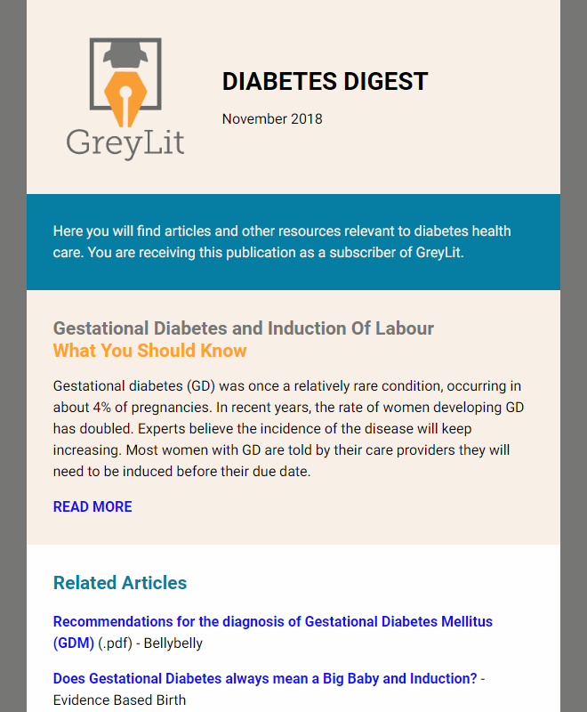 Diabetes Digest Nov-18